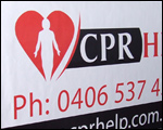 Custom Car Magnets for CPR Help.