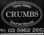 Car Magnets for Crumbs Gourmet Biscuits.