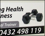 Living Health and Fitness Car Magnets